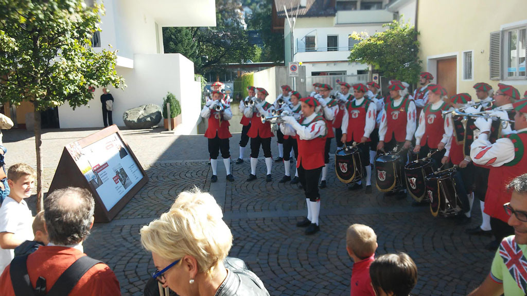 Auftritt des FZ Ankenreute in Brixen / Südtirol