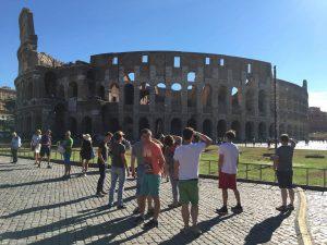Besuch des Kolosseums