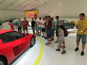 FZA im Ferrari-Museum