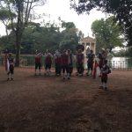 Platzkonzert an der Villa Borghese
