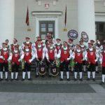 Der Fanfarenzug Ankenreute im Baltikum 2009