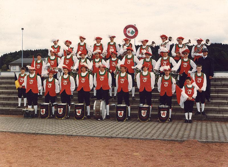 Gruppenfoto des FZA in den 80ern