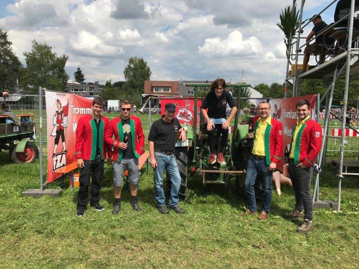 Sieger Traktorstammziehen 2017
