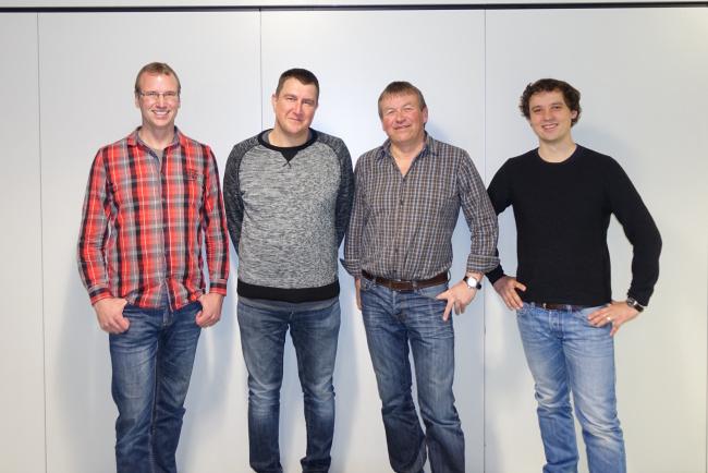 Die neue Vorstandschaft des Fördervereins des Landjugend Fanfarenzugs Ankenreute e.V. im Jahr 2018.