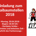 Einladung Maibaumstellen 2018 Schlier